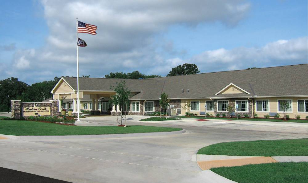 Main view of Hudson Creek Alzheimer's Special Care Center