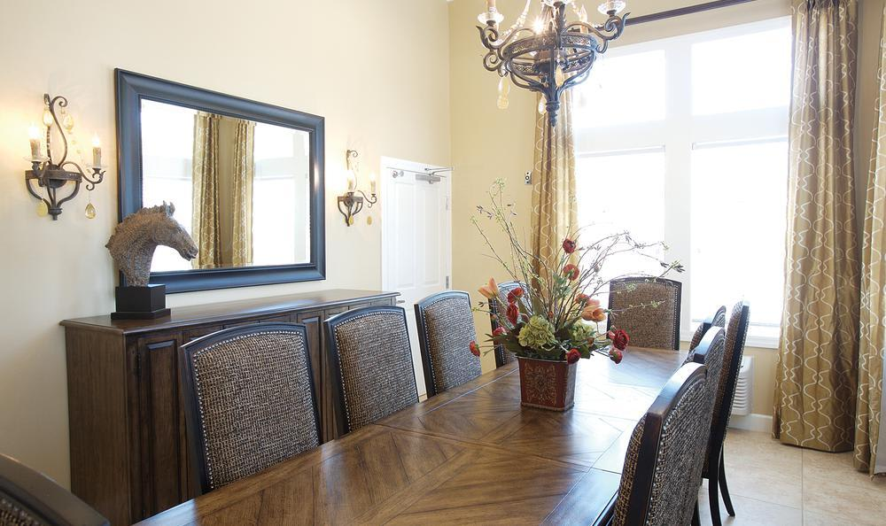 dining room at North Ridge Alzheimer's Special Care Center in Albuquerque, NM