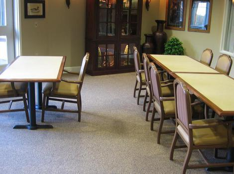 activities area at Pine Ridge Alzheimer's Special Care Center in Spokane Valley, WA