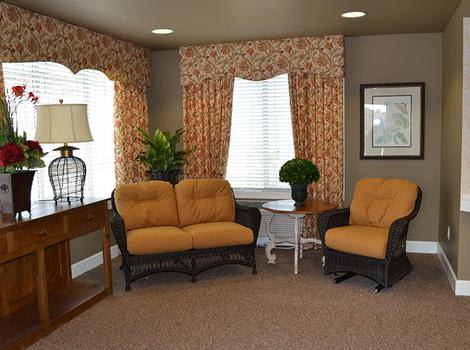 Prairie Meadows Alzheimer's Special Care Center Lobby