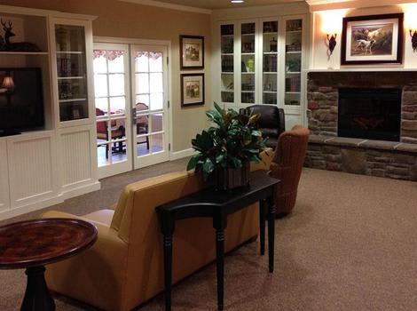Prairie Meadows Alzheimer's Special Care Center Lounge