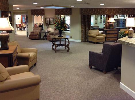 Prairie Meadows Alzheimer's Special Care Center Commons