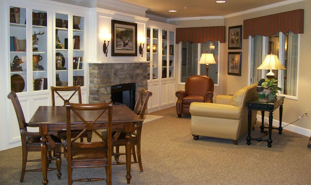 Living Room 2 at Sugar Creek Alzheimer's Special Care Center in Normal
