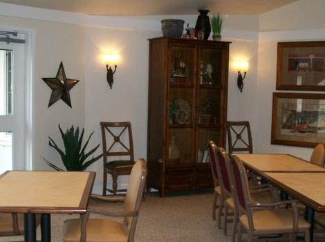 Dining Room at Sugar Creek Alzheimer's Special Care Center in Normal