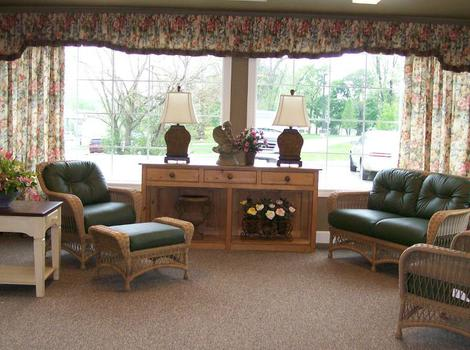 Sunrooom 2 at Sugar Creek Alzheimer's Special Care Center in Normal