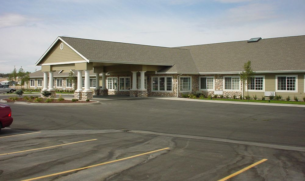 exterior front view at Summer Wood Alzheimer's Special Care Center in Moses Lake, WA