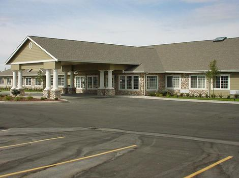 clubhouse lobby at Summer Wood Alzheimer's Special Care Center in Moses Lake, WA