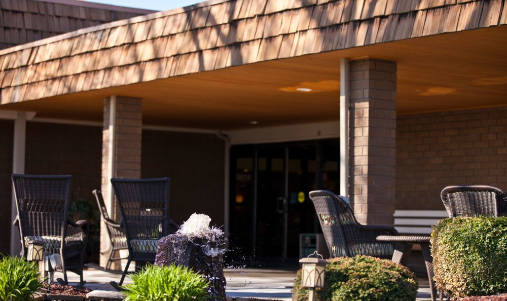 Exterior Space 2 at Tri-Cities Retirement Inn in Pasco