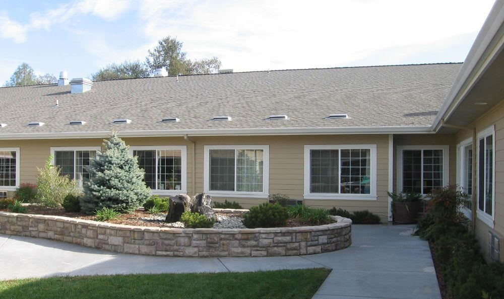 Exterior building at Willow Springs Alzheimer's Special Care Center