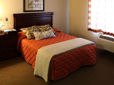 Bedroom At Glenwood Alzheimer's Special Care Center