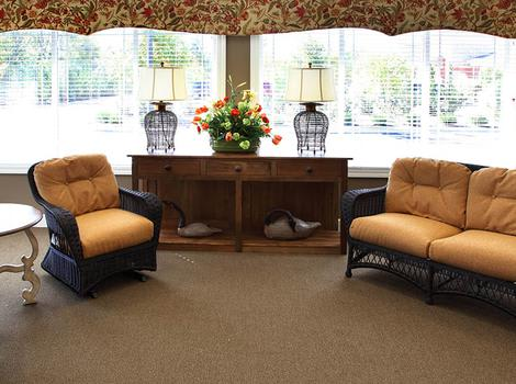 Lounge At Glenwood Alzheimer's Special Care Center