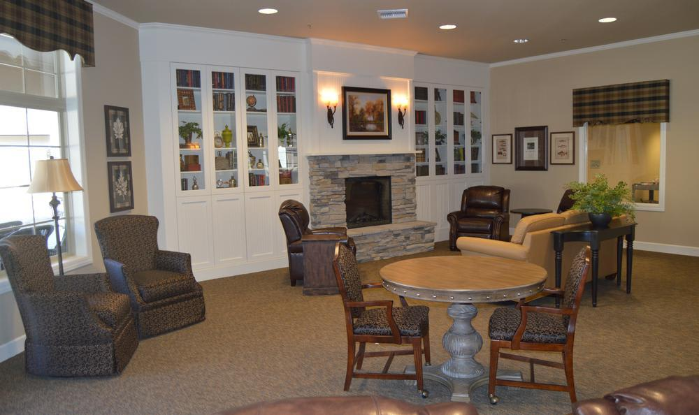 Common Area at Colonial Gardens Alzheimer's Special Care Center in West Columbia