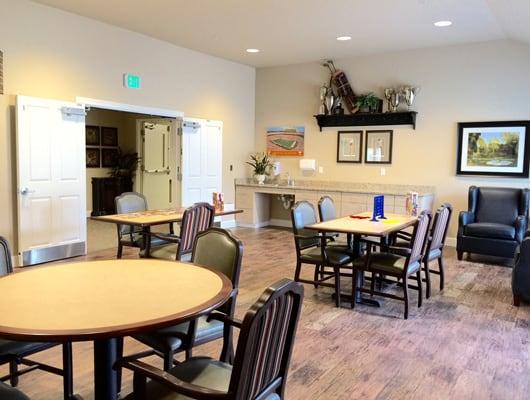 Quail Ridge Alzheimer's Special Care Center Dining Area