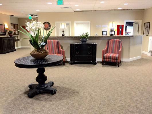 Interior Commons of Quail Ridge Alzheimer's Special Care Center