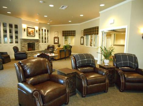 Quail Ridge Alzheimer's Special Care Center Reading Lounge