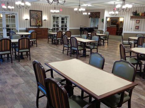 Dining Room 2 at Central Parke Alzheimer's Special Care Center in Mason