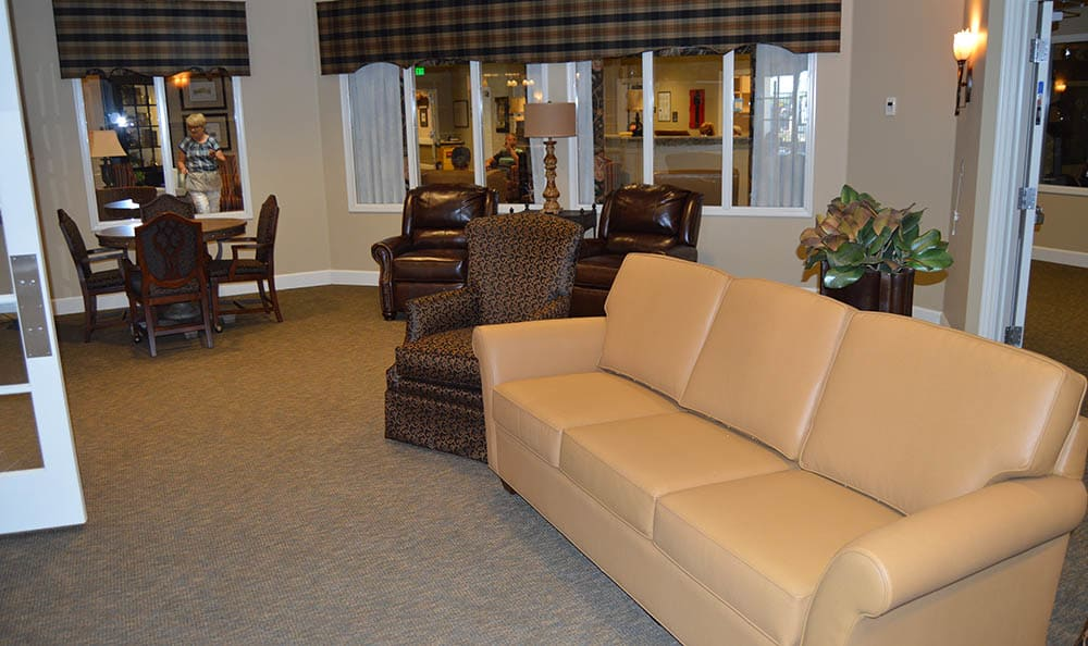 Commons Lounge at Walnut Creek Alzheimer's Special Care Center