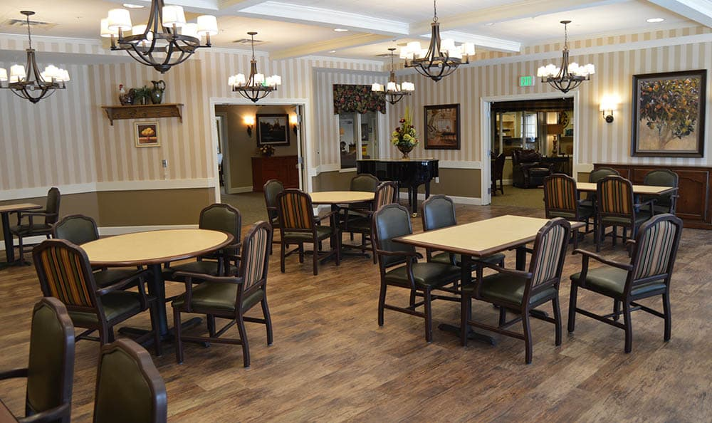 Dining Area at Walnut Creek Alzheimer's Special Care Center