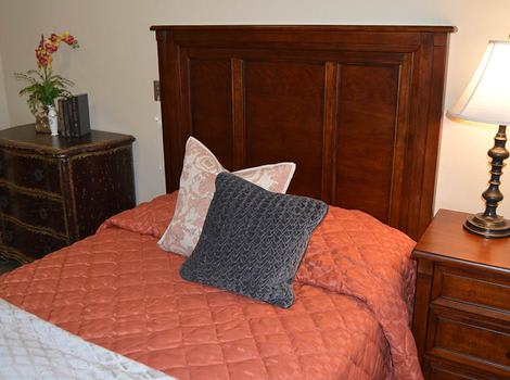 Luxurious Beds At Walnut Creek Alzheimer's Special Care Center