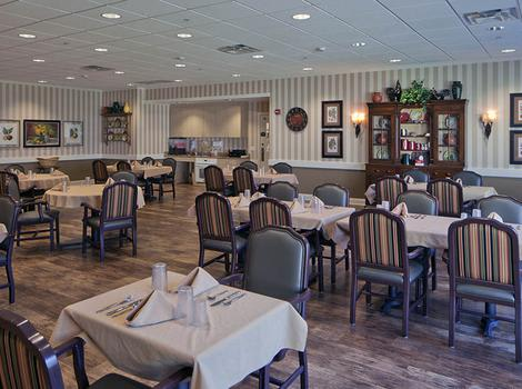 The Springs of Vernon Hills Alzheimer's Special Care Center Dining Hall In Vernon Hills IL
