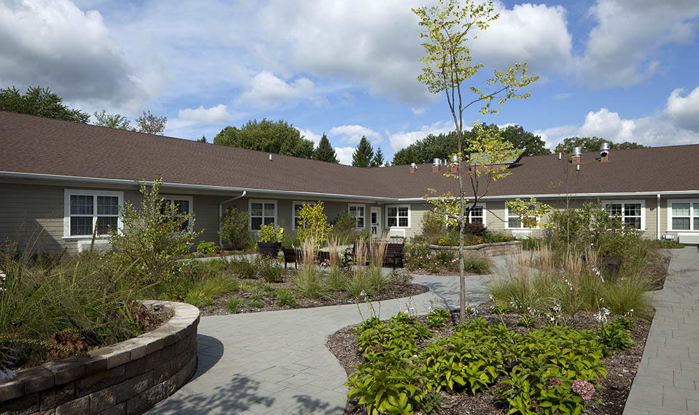 Serene Garden At The Springs of Vernon Hills Alzheimer's Special Care Center