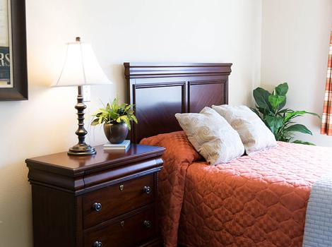 Bedrooms at Edgemont Place Alzheimer's Special Care Center in Blaine, MN