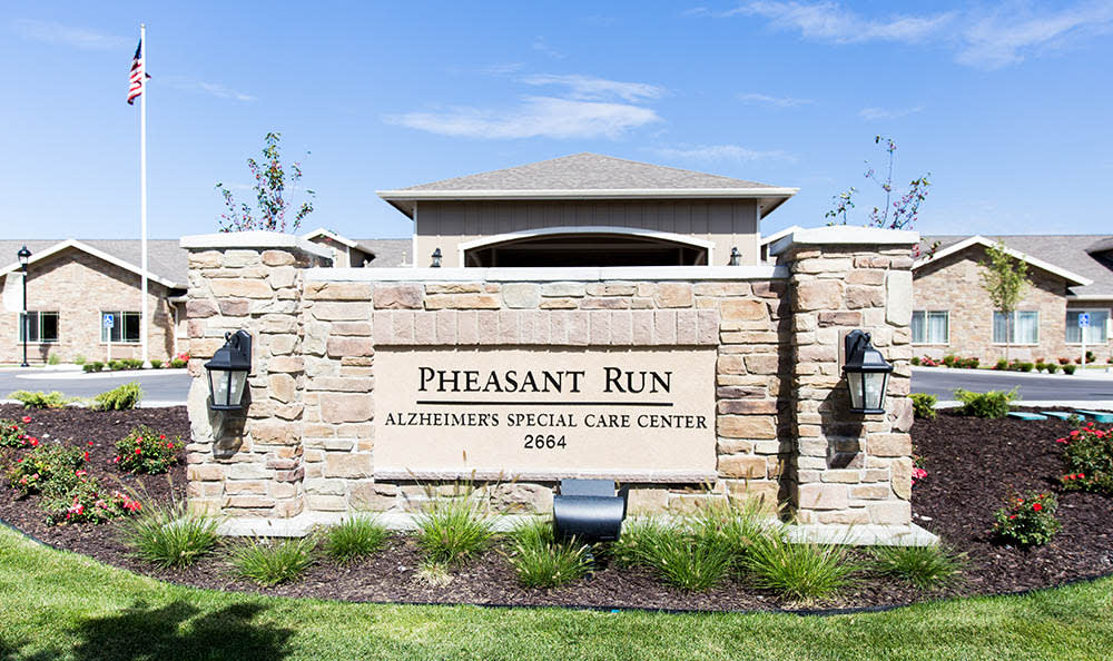 Pheasant Run Alzheimer's Special Care Center exterior