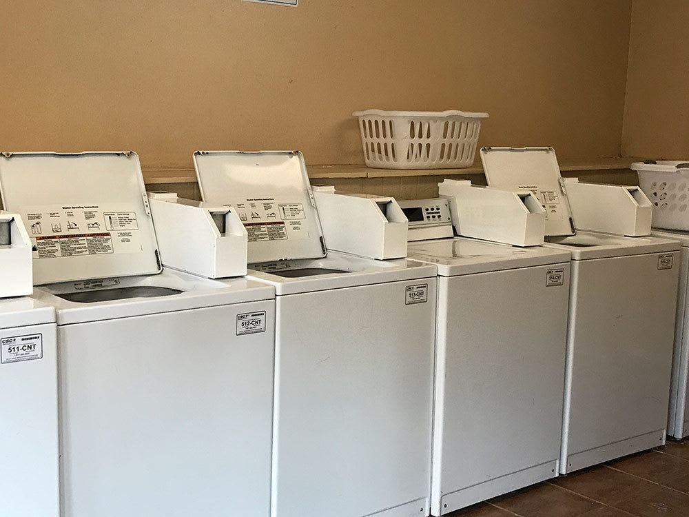 Community laundry room at Bridge at Sterling Springs