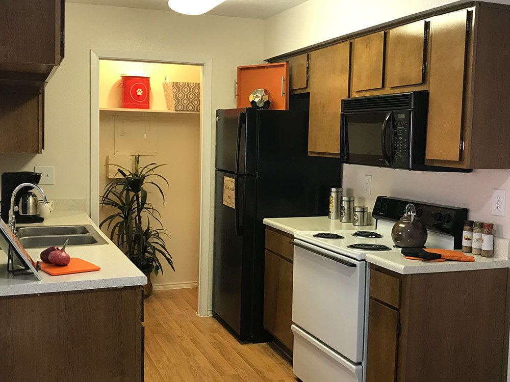 Kitchen option at Bridge at Sterling Springs