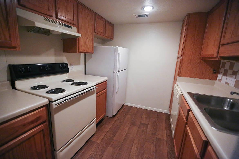 Kitchen inside apartments