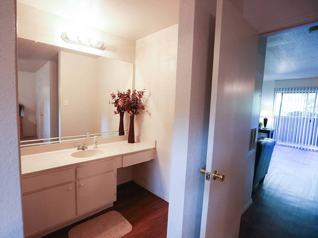 View of the bathroom at Bridge at Sterling Village
