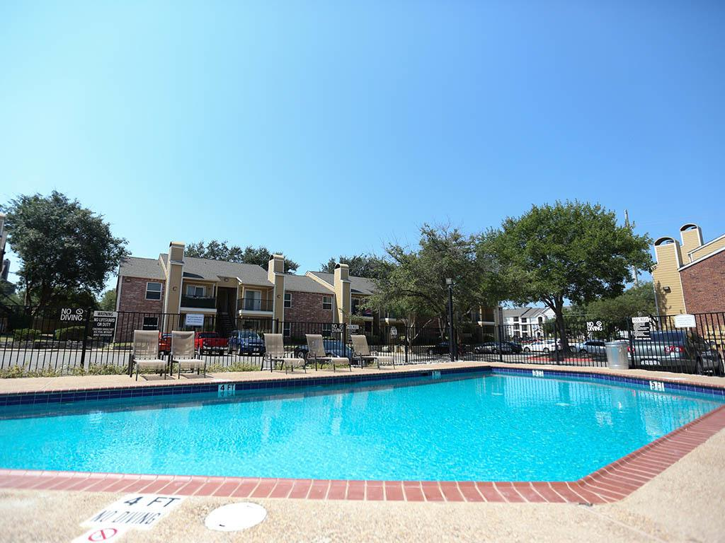 Poolside view at Bridge at Sweetwater