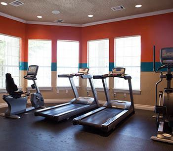 Fitness center at The Bridge at Volente in Austin
