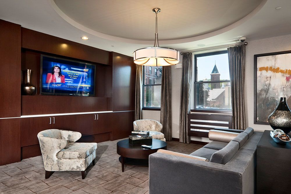 Enjoy a flat screen TV in our community clubhouse
