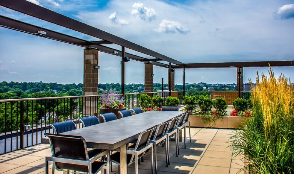 Crystal House sky deck with panoramic views