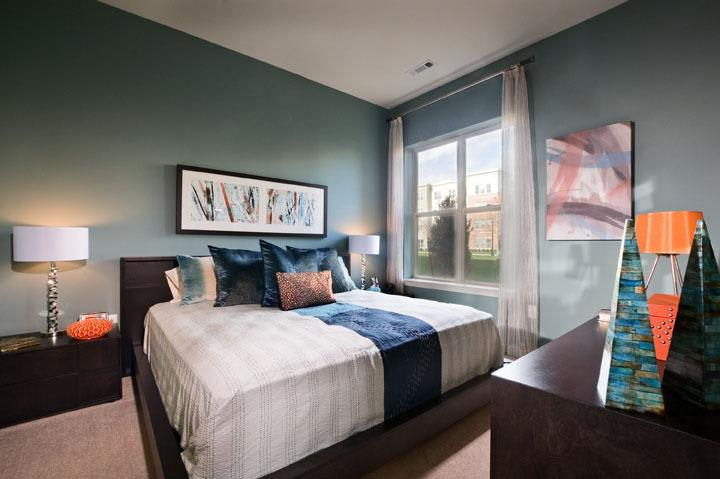 Spacious Bedroom At Luxury Apartments In Malden Massachusetts