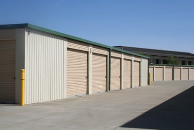 Self storage units in Rocklin