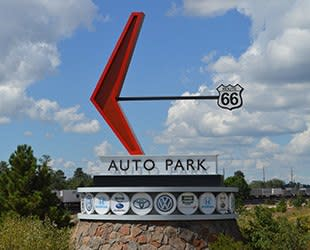 Armour Self Storage is right off Route 66 near the Auto Park.