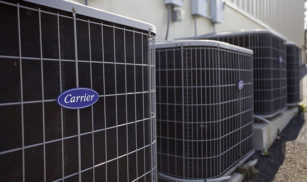 Air-conditioned units protect your property from the elements.