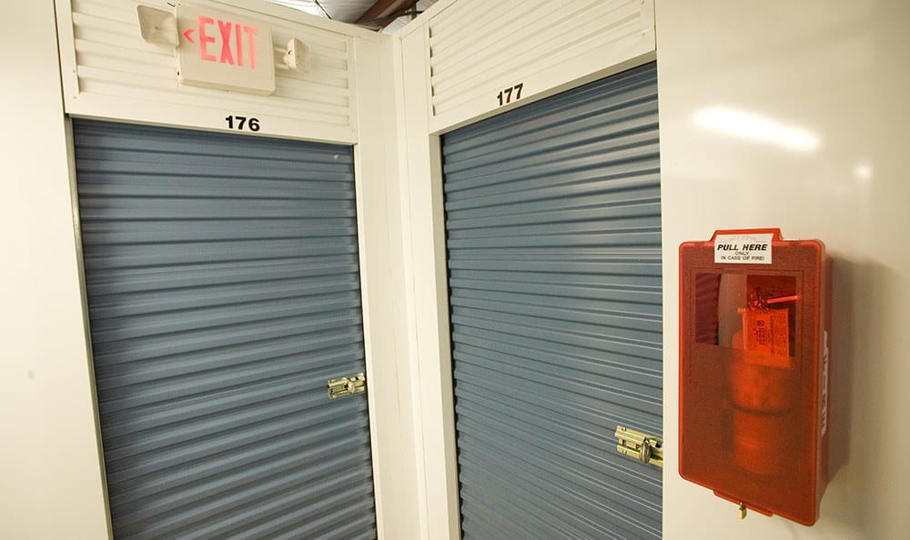 Safety is key at our self storage facility in Bonaire, GA