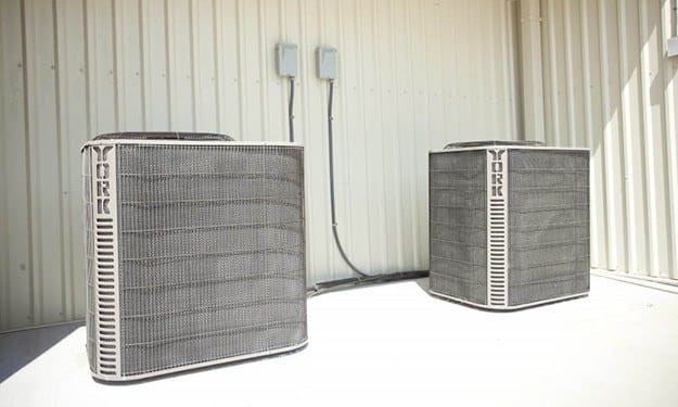 Air-conditioned units protect your property from the elements at South Port Storage