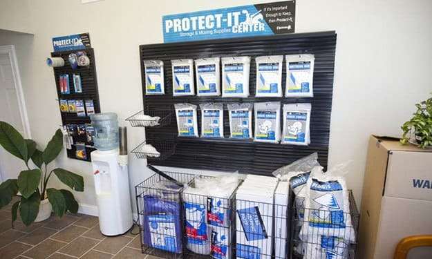 Purchase all the moving and packing supplies you'll need in our office at South Port Storage