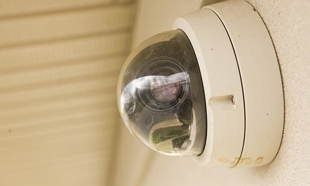 Cameras are monitoring and recording all activities at our secure storage facility in Brunswick, GA.