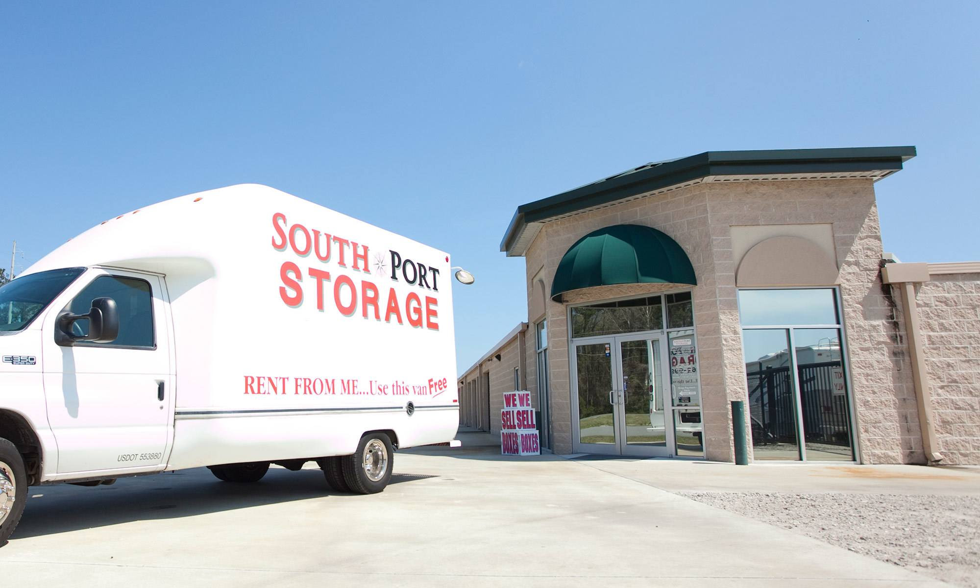 Self storage in Brunswick GA