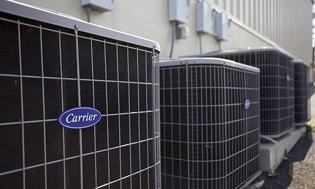 Air-conditioned units protect your property from the elements at Frederica Storage