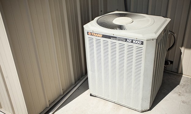 Air-conditioned units protect your property from the elements at Victory Drive Self Storage
