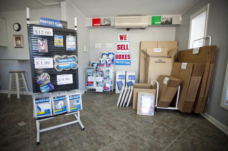 Buy your storage supplies at Thunderbolt Self Storage