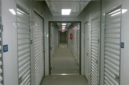 Climate-controlled units at New Highlands Self Storage