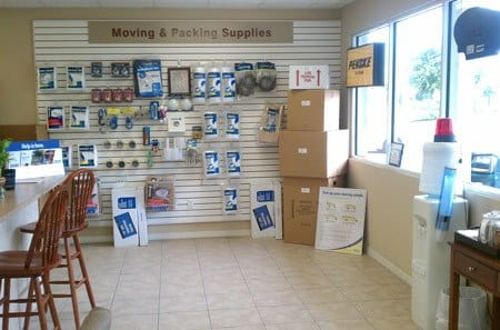We offer packing and moving supplies at New Highlands Self Storage in Bartow, FL