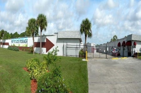Storage building exterior in Port St Lucie